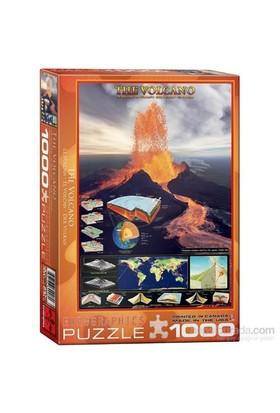Eurographics 1000 Parça Volkan Puzzle 6000-2998