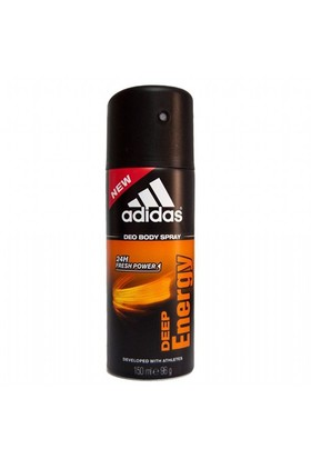 Adidas Deo Sprey Deep Energy 150 Ml Erkek