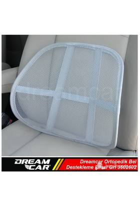 Dreamcar Ortopedik Bel Destekleme Filesi Gri 3602602