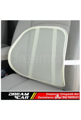 Dreamcar Ortopedik Bel Destekleme Filesi Bej 3602603