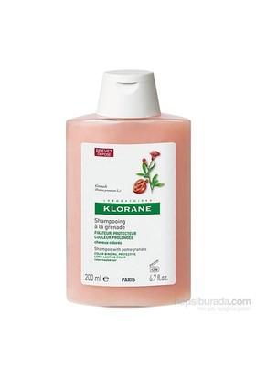 KLORANE Shampooing grenade 200 ml - Nar ekstreli şampuan (boyalı saçlar)