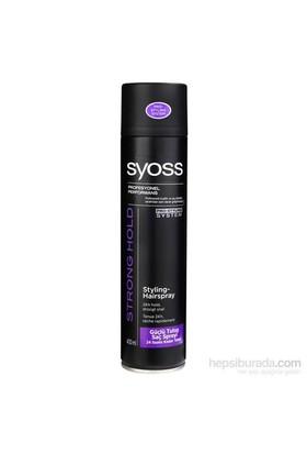 Syoss Strong Hold 400Ml Güçlü Tutuş Saç Spreyi