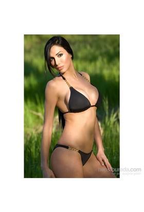 Redhotbest Brazilian Cut Zincirli Gogo Bikini