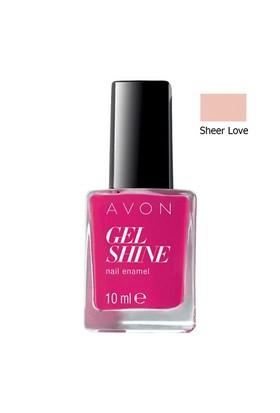 Avon Gel Shine Tırnak Cilası Oje 10 Ml. Sheer Love