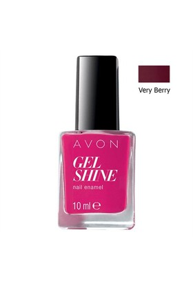 Avon Gel Shine Tırnak Cilası Oje 10 Ml. Very Berry