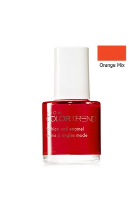Avon Color Trend Tırnak Cilası - Oje 8 Ml. Orange Mix