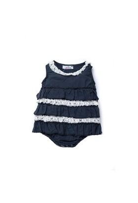 Shecco Babba Bebek Body'li Mini Elbise