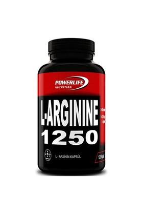 Powerlife L-Arginine 1250-120 Kapsül