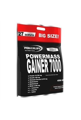 Powerlife Mass Gainer 7000 4590 Gr