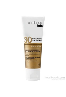 CUMLAUDE LAB SUNLAUDE SPF30 Anti-aging Emulsion 50 ml