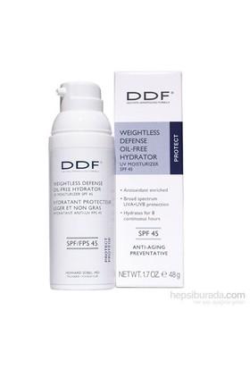 Ddf Weightless Defense Oil Free Hydrator Uv Moisturizer Spf 45 - Güneş Korumalı, Matlaştırıcı Nemlendirici