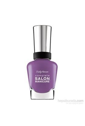 Sally Hansen Complete Salon Manicure - Good To Grape - 5'Li Etkili Oje - Açık Mor (409)