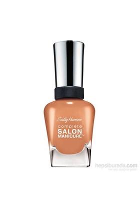 Sally Hansen Complete Salon Manicure - Terracotta - 5'Li Etkili Oje - Sütlü Kahve