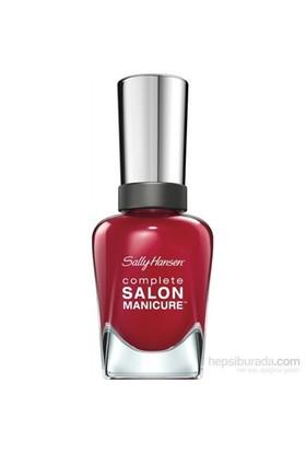 Sally Hansen Complete Salon Manicure - Red Handed - 5Li Etkili Oje - Kırmızı