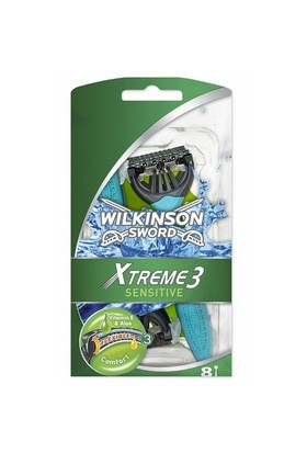 Wilkinson Xtreme3 Sensitive Kullan-At Tıraş Bıçağı 8Li