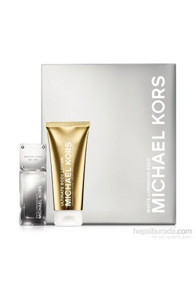Michael Kors White Luminous Gold Kadın Parfüm + Vücut Losyonu Set