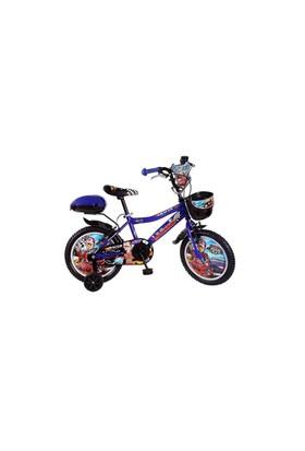 """Ümit 16"""" Racer 1648 Çelik Kadro V Fren 1 Vites Mavi Unisex Çocuk Bisikleti"""