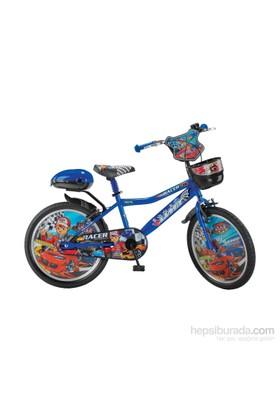 "Ümit 20"" Racer 2048 Çelik Kadro V Fren 1 Vites Unisex Çocuk Bisikleti"