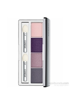 Clinique All About Shadow Quad 06 Pink Chocolate 4'lü Göz Farı