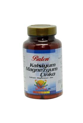 Balen Kalsiyum Magnezyum Çinko Kapsül 90 Kapsül