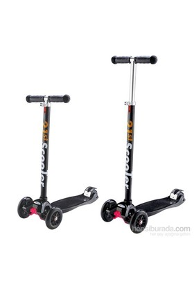 Action Çocuk Scooter Siyah Yükseklik Ayarlanabilir Ro203m