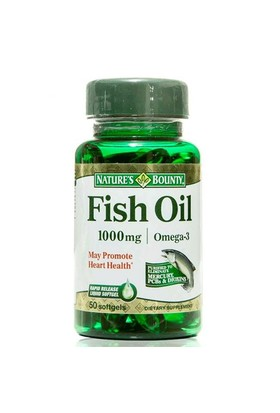Nature's Bounty Fish Oil 1000 Mg 50 Kapsül