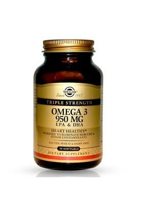 Solgar Omega-3 950 Mg 50 Kapsül