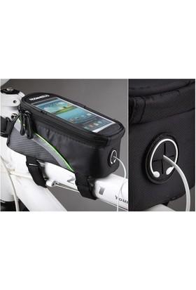 Markacase İphone 5S-6S-6 Plus Roswheel Bisiklet Çantası Telefon Bölmeli