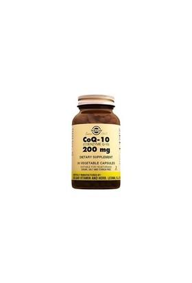 Solgar Coenzyme Q-10 200Mg 30 Kapsül