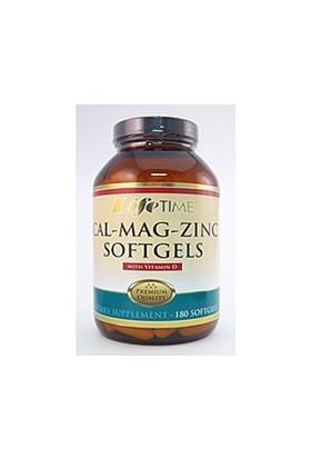 Life Time Nutrıtıon Kalsiyum,Magnezyum,Çinko Ve D Vitamini 90 Softjel