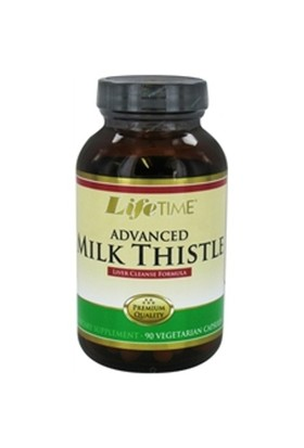 Lıfe Tıme Advanced Milk Thistle Formula 90 Veggie Capsules