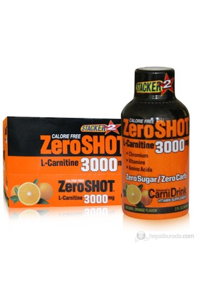 Stacker 2 Zero Shot L Carnitine 3000 60ml x 12 Şişe