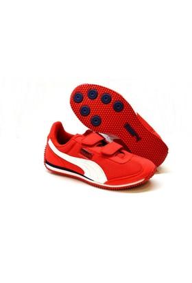 Puma 357231-05 Whirlwind Kids Çocuk Cırtlı Yürüyüş Ve Koşu Spor Ayakkabı
