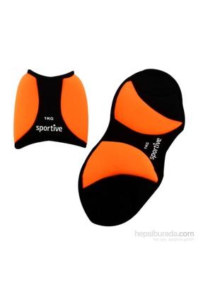 Sportive Neoprene Ayak Ağırlığı 2X1kg