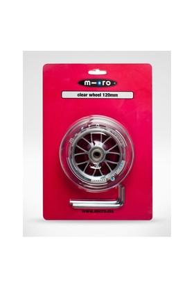 Micro Rear Wheel 80mm Clear