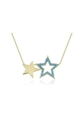 Swandia İkili Yıldız Kolye Swn01572