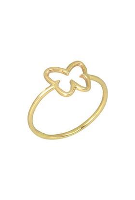 Goldstore 14 Ayar Altın Kelebek Yüzük GRF16463