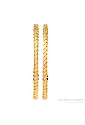 Altında Fırsat 35 gr, 22 Ayar 3'lü Burma Altın Bilezik EKO Paket (2 adet 17,5 gr)