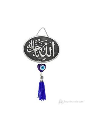 Gumush 925 Püsküllü Allah Yazılı Ayet   Kr2550002
