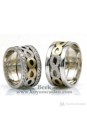 Berk Kuyumculuk Gümüş Alyans 5511 (Çift Fiyatı)