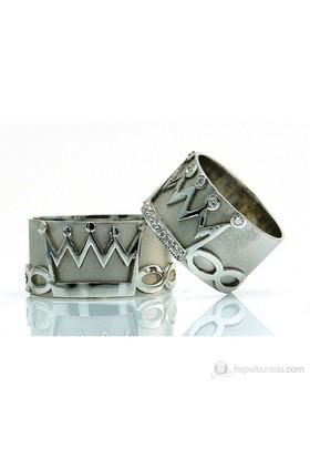 Berk Kuyumculuk Gümüş Alyans 5546 (Çift Fiyatı)
