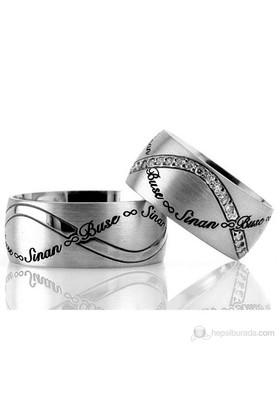 Berk Kuyumculuk Gümüş Alyans 5560 (Çift Fiyatı)