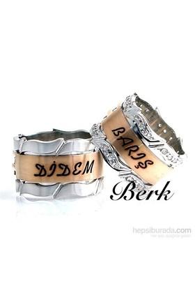 Berk Kuyumculuk Gümüş Alyans 5594 (Çift Fiyatı)