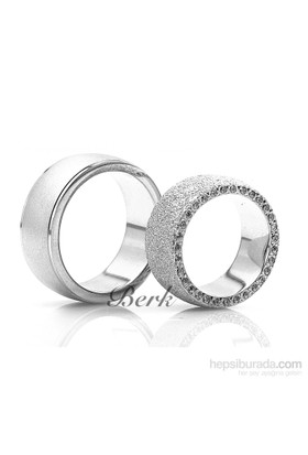 Berk Kuyumculuk Gümüş Alyans 5613 (Çift Fiyatı)