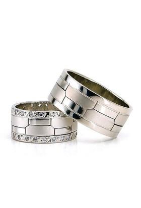 Berk Kuyumculuk Gümüş Alyans 5789(çift)