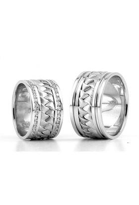 Berk Kuyumculuk Gümüş Alyans 5791(çift)