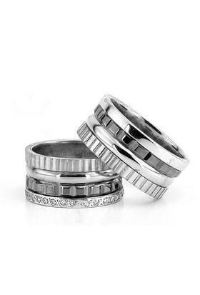 Berk Kuyumculuk Gümüş Alyans 5826(çift)
