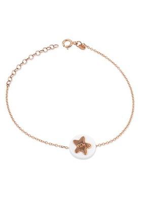 Deniz Yıldızı Altın Bileklik