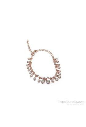 Neva Gümüş Shakıra Taşlı Rose Bileklik Gümüş Bileklik