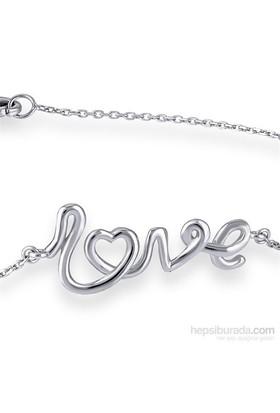 Divas Love Pırlantalı Love Bileklik